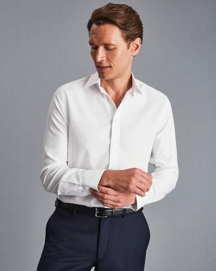 Non-Iron Royal Oxford Shirt - White