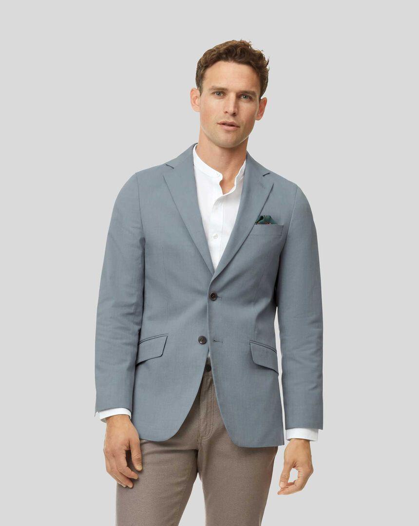 Cotton TENCEL™ Mix Jacket - Light Blue