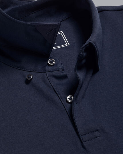 Smart Jersey Polo - Navy