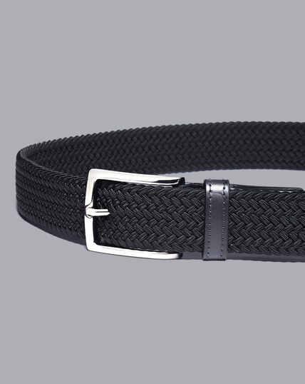 Casual Stretch Belt - Navy