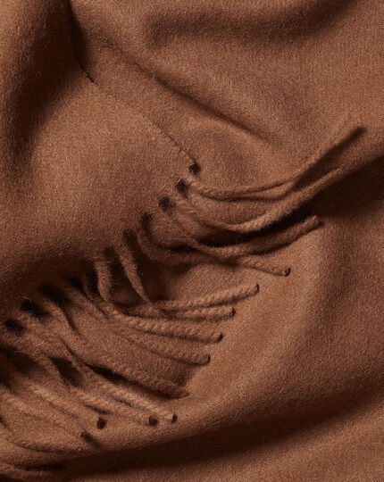 Cashmere Scarf - Camel