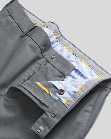 Smart Non-Iron Chinos - Grey