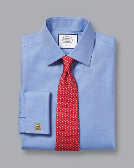 Non-Iron Royal Oxford Shirt - Ocean Blue