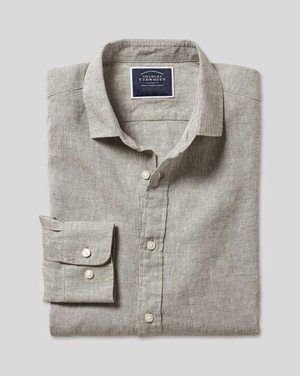 Linen Shirt - Grey