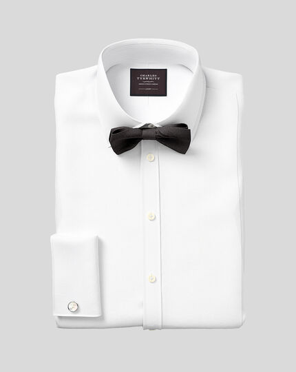 Silk Barathea Self-Tie Bow Tie - Black