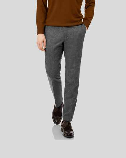 Flannel Pants - Grey