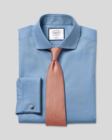Toucan Silk Print Tie - Orange & Sky