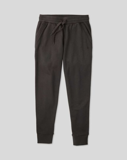 Jersey Joggers - Charcoal