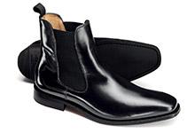 Chelsea boot shoe design
