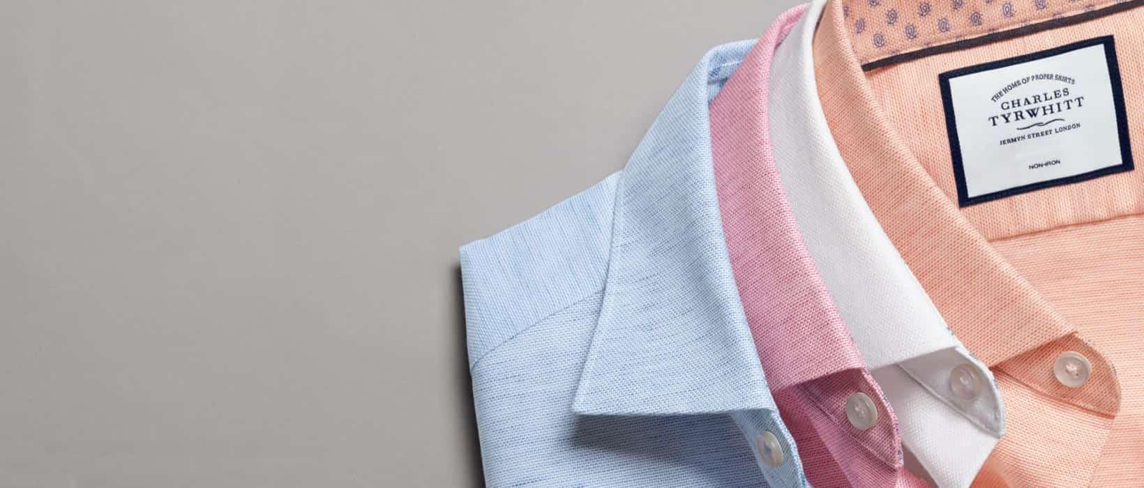 collars on shirts