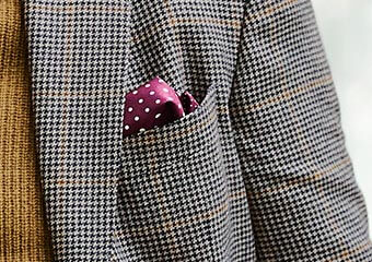 How to fold the puff pocket square