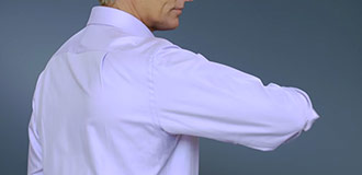 How to measure for a shirt step 3