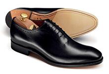 Wholecut shoe design
