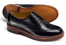 Derby shoe design