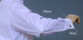 How to measure for a shirt step 6