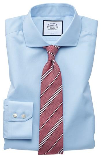 image of a blue shirt