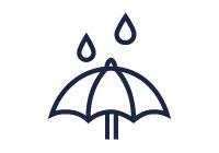 Shower resistant illustration