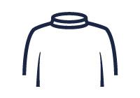 Roll neck illustration